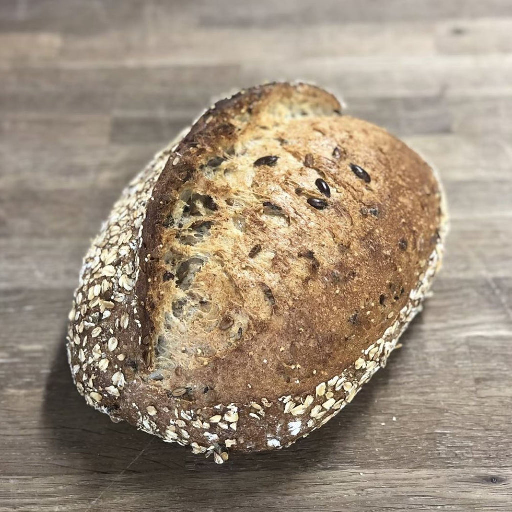 Seeded Sourdough Loaf Bread Pistrina