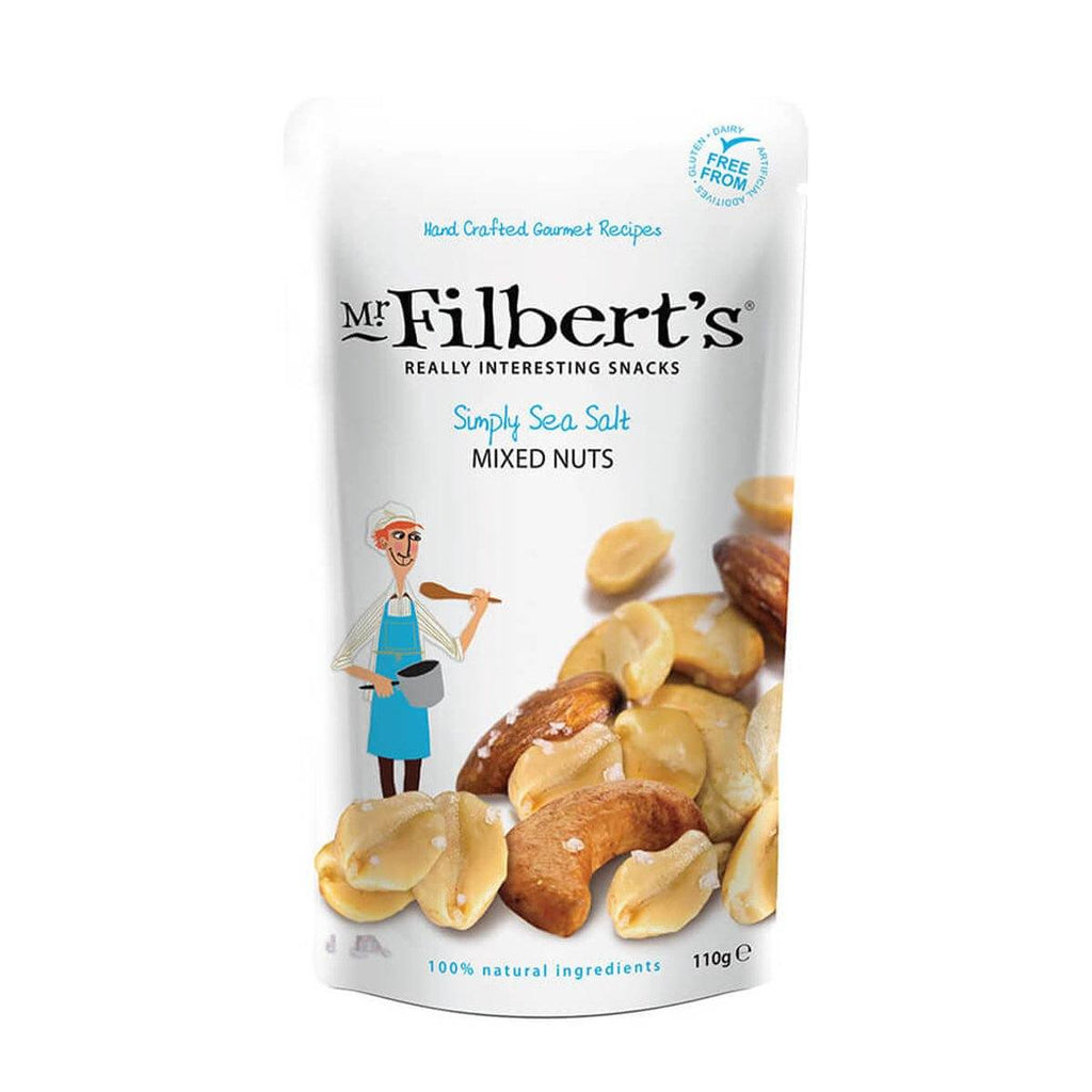 Simply Sea Salt Mixed Nuts Crisps, Snacks & Nuts Mr Filbert's