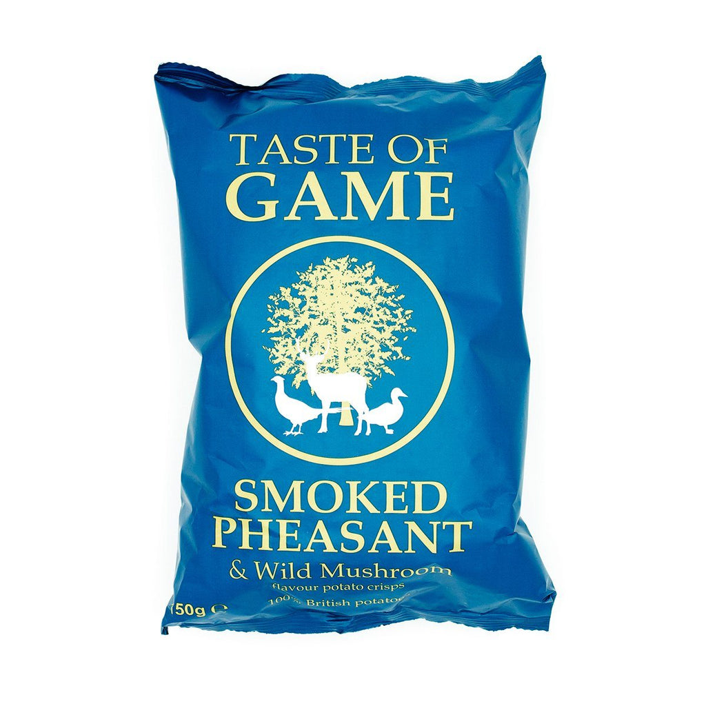 Smoked Pheasant & Wild Mushroom Crisps Crisps, Snacks & Nuts Taste of Game
