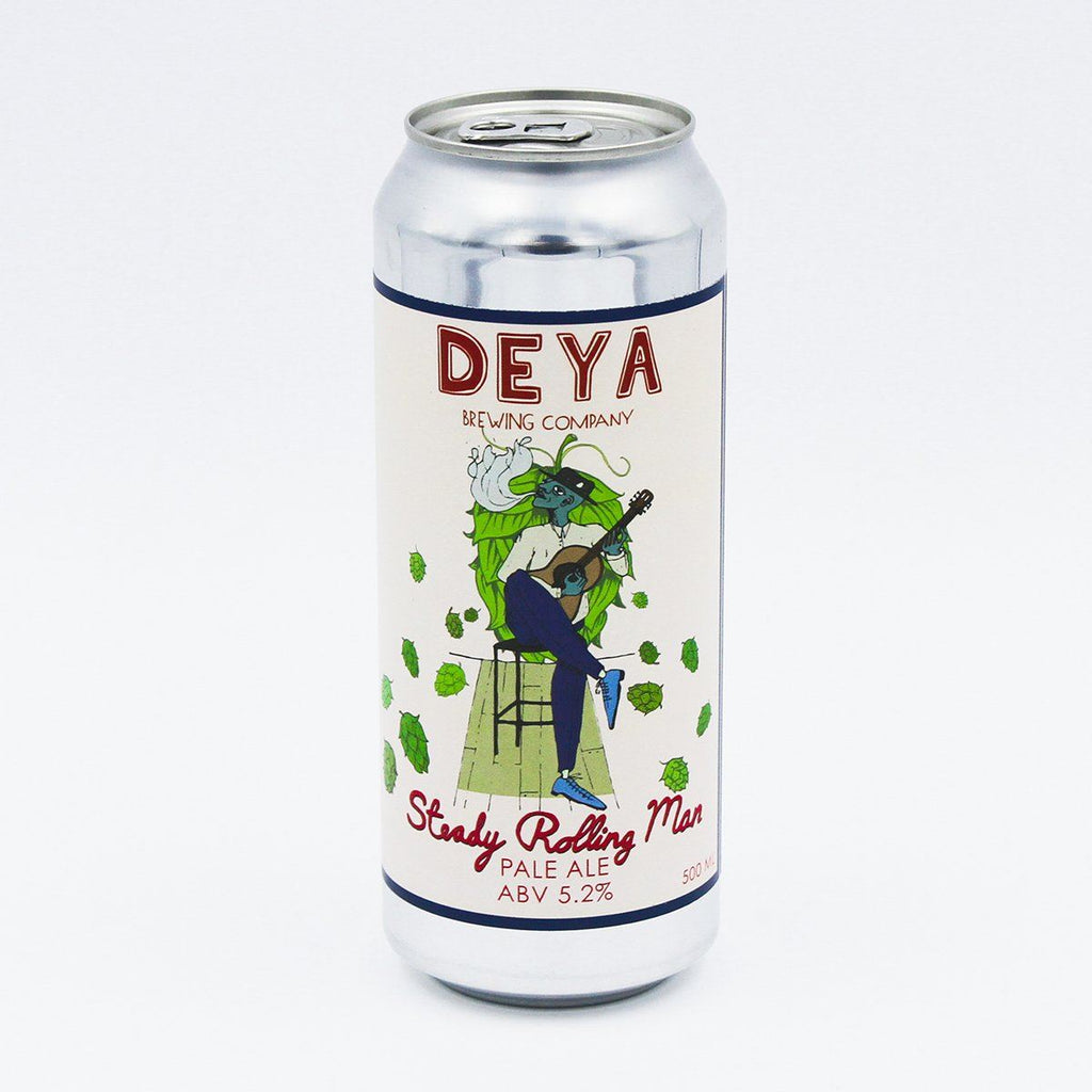 Steady Rolling Man Beers DEYA Brewing Company