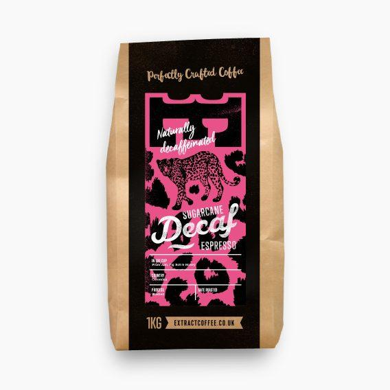 Sugarcane Decaf Espresso Coffee Extract Coffee