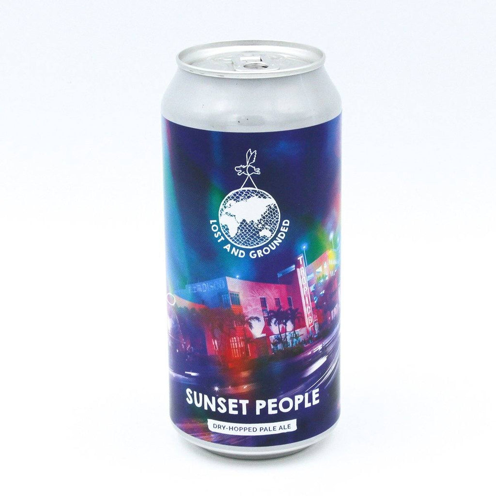 Sunset People Beers Lost and Grounded Brewers