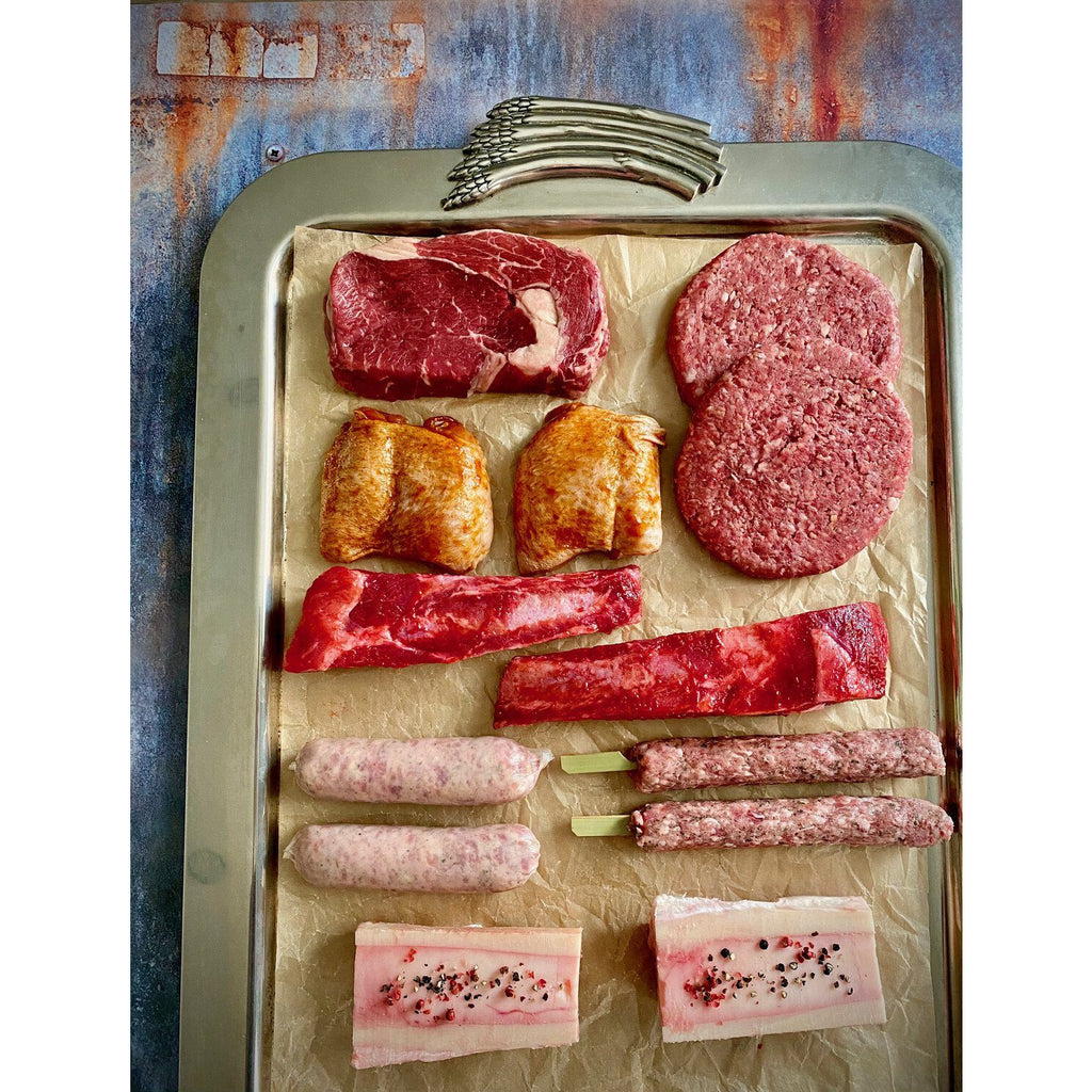 The Meaty Beast BBQ Box Meat Bundles BOXED