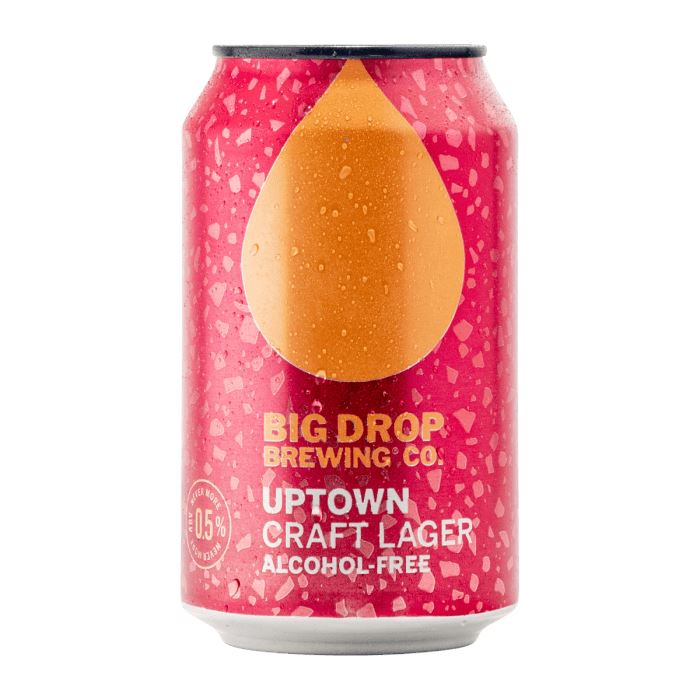 Uptown Craft Lager (Can) Beers Big Drop
