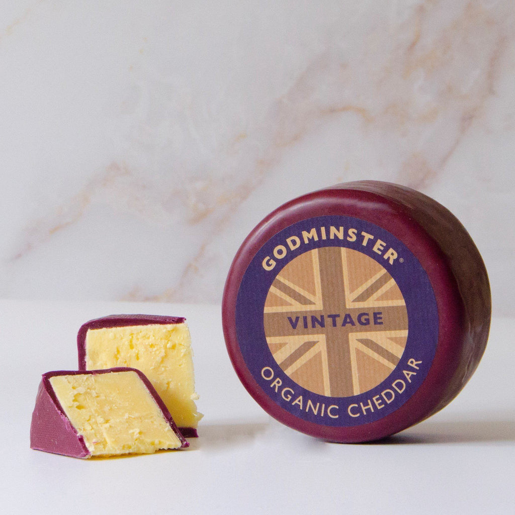 Vintage Organic Cheddar Truckle Cheese Godminster