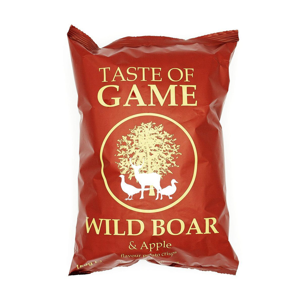 Wild Boar & Apple Crisps Crisps, Snacks & Nuts Taste of Game
