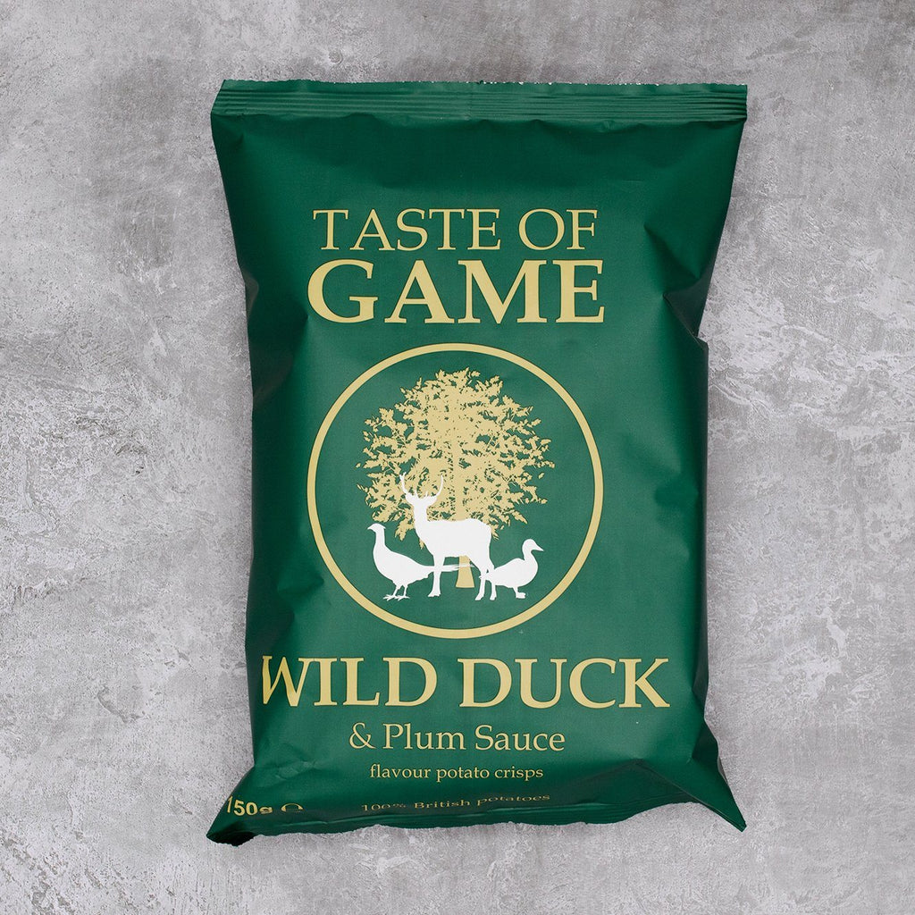 Wild Duck & Plum Sauce Crisps Crisps, Snacks & Nuts Taste of Game