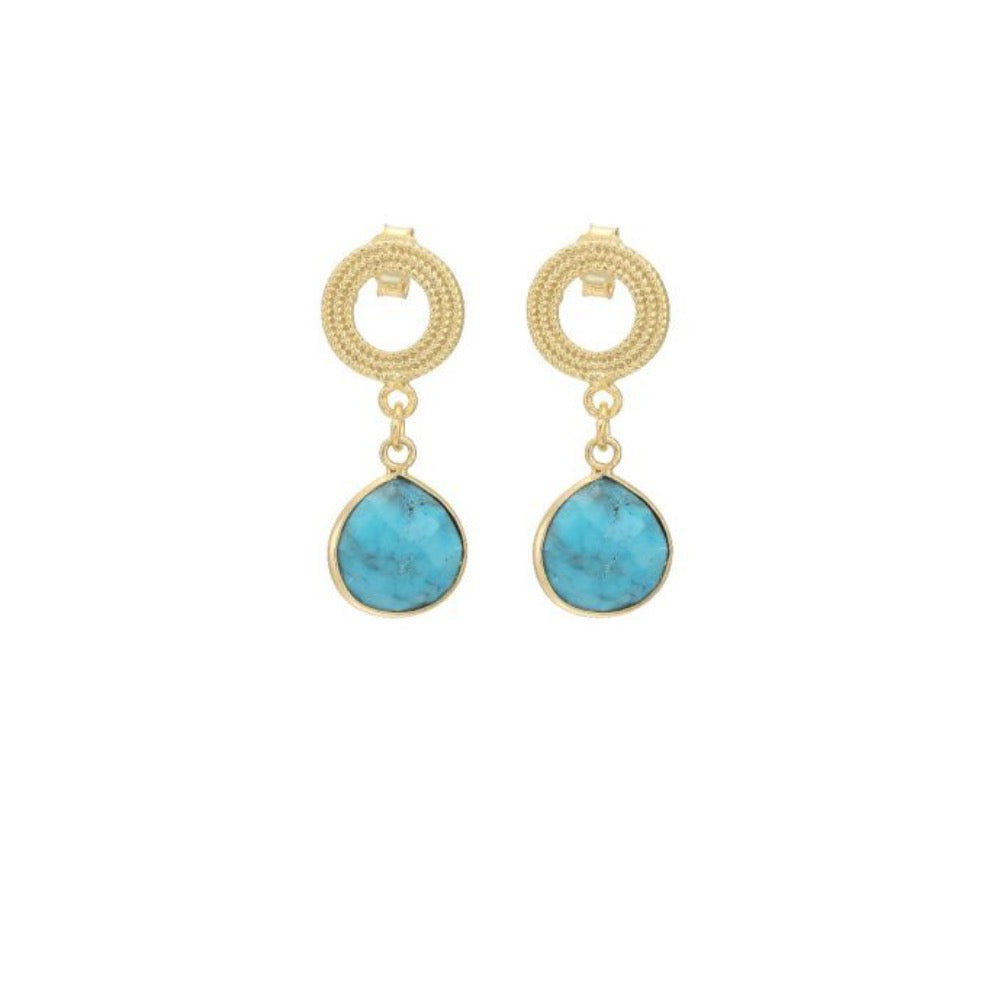 Cassie Turquoise Earrings