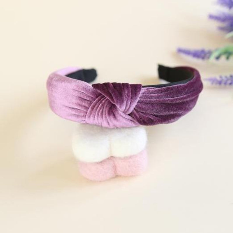 Milly Twist Lilac Hairband