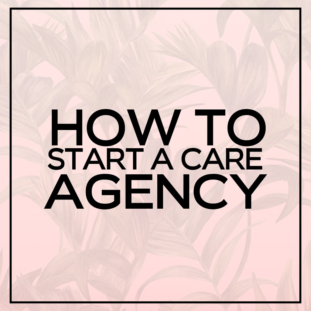 E-book – How to Start a Care Agency
