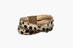 Cheetah Wrap Band Bracelet