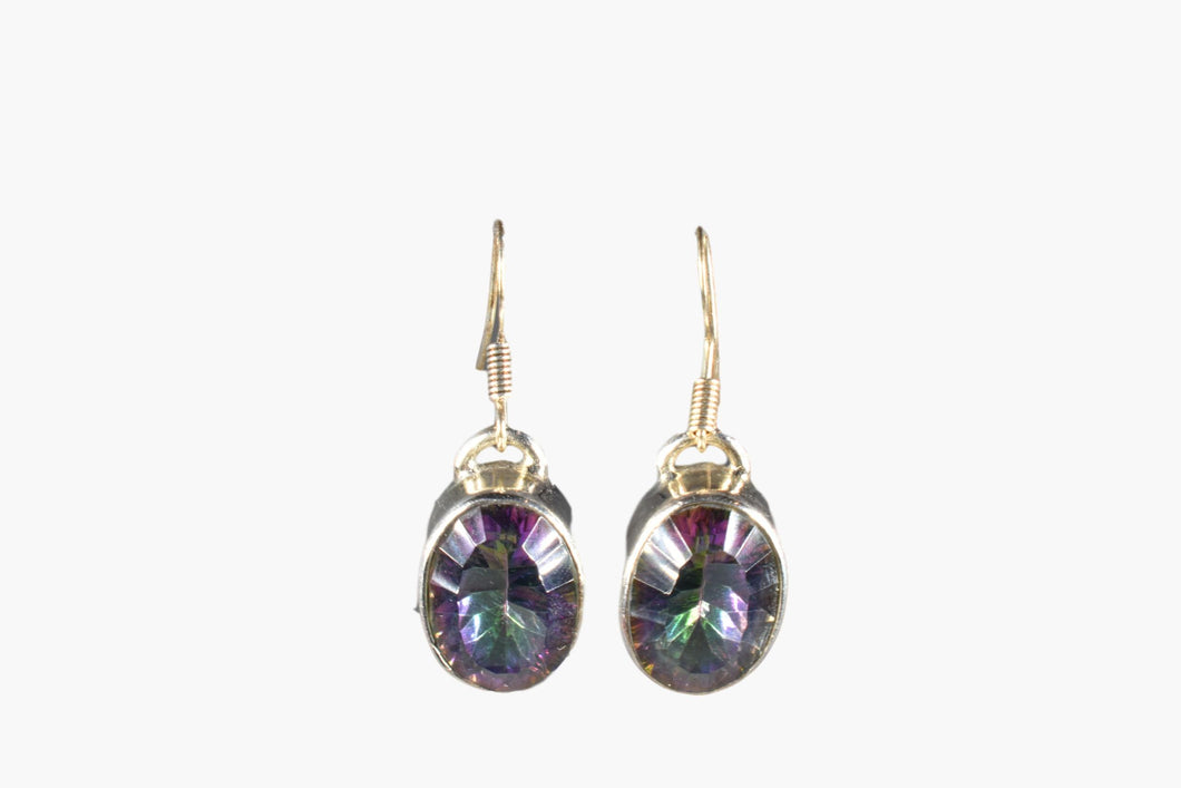 Mystic Topaz Drop Earrings