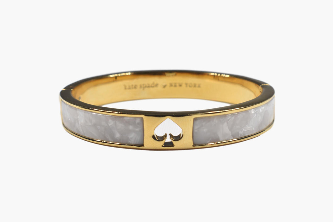 Kate Spade Mother-of-Pearl Bangle Bracelet