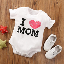 Load image into Gallery viewer, I Love Mom Onesie