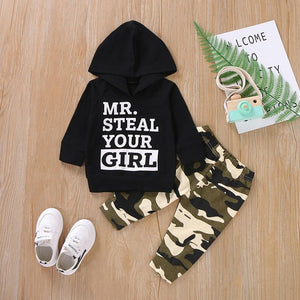 Mr. Steal Your Girl Boys Hoodie & Jogger Set