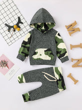 Load image into Gallery viewer, Camo Set Boy Hoodie & Joggers