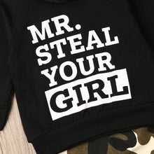 Load image into Gallery viewer, Mr. Steal Your Girl Boys Hoodie & Jogger Set