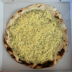 Garlic Butter and Parsley Pizza