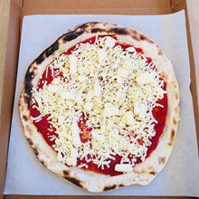 Load image into Gallery viewer, Big Blu Margherita Pizza uncooked