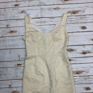 Primary Photo - BRAND: VALENTINO STYLE: DRESS SHORT SLEEVELESS COLOR: CREAM SIZE: 8 SKU: 232-23280-47040