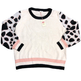 Primary Photo - BRAND: ENTRO STYLE: SWEATER HEAVYWEIGHT COLOR: CREAM SIZE: 2X SKU: 232-23290-50518