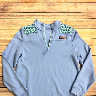 Primary Photo - BRAND: VINEYARD VINES STYLE: SWEATSHIRT HOODIE COLOR: POWDER BLUE SIZE: XS SKU: 232-23290-48302