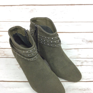 Primary Photo - BRAND: CATO STYLE: BOOTS ANKLE COLOR: OLIVE SIZE: 6 SKU: 232-23254-4029