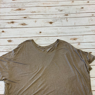 Primary Photo - BRAND: LANE BRYANT STYLE: TOP SHORT SLEEVE COLOR: BROWN SIZE: 22 SKU: 232-232107-742