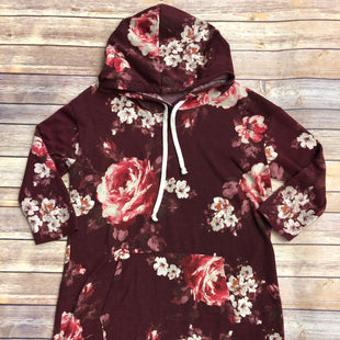 Primary Photo - BRAND: POOF STYLE: TOP LONG SLEEVE BASIC COLOR: MAROON SIZE: L SKU: 232-232123-7596
