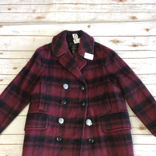 Primary Photo - BRAND: COACH STYLE: COAT SHORT COLOR: RED BLACK SIZE: L SKU: 232-23290-44000