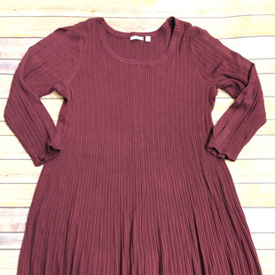 Primary Photo - BRAND: CATO STYLE: DRESS SHORT LONG SLEEVE COLOR: MAROON SIZE: 18 SKU: 232-23280-49918