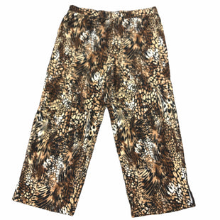Primary Photo - BRAND: DENIM AND CO QVC STYLE: PANTS COLOR: ANIMAL PRINT SIZE: 1X SKU: 232-23280-53468