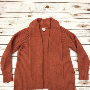 Primary Photo - BRAND: A NEW DAY STYLE: SWEATER CARDIGAN HEAVYWEIGHT COLOR: ORANGE SIZE: M SKU: 232-23280-44649