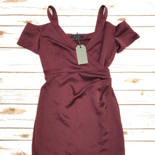 Primary Photo - BRAND: ALL SAINTS STYLE: DRESS SHORT SLEEVELESS COLOR: MAROON SIZE: 2 SKU: 232-23280-47809