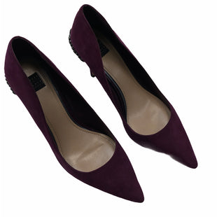 Primary Photo - BRAND: WHITE HOUSE BLACK MARKET STYLE: SHOES HIGH HEEL COLOR: PLUM SIZE: 9 SKU: 232-232121-6316