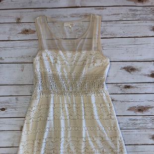 Primary Photo - BRAND: A REVE STYLE: DRESS SHORT SLEEVELESS COLOR: CREAM SIZE: L SKU: 232-232118-2445CROCHET DETAILS. BRIGHT CREAM COLOR THAN THE DARK PIGMENT PICTURED.