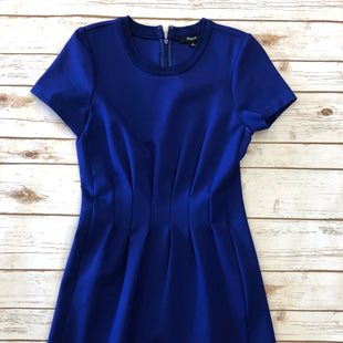 Primary Photo - BRAND: MADEWELL STYLE: DRESS SHORT SHORT SLEEVE COLOR: ROYAL BLUE SIZE: 4 SKU: 232-232123-1714RUCHE/PLEATED AT MIDRIFF.