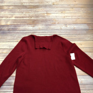 Primary Photo - BRAND: CHICOS STYLE: SWEATER LIGHTWEIGHT COLOR: RED SIZE: 2X SKU: 232-232121-4037