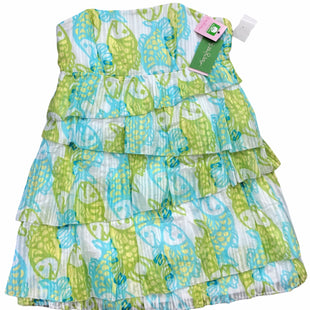 Primary Photo - BRAND: LILLY PULITZER STYLE: DRESS SHORT SLEEVELESS COLOR: WHITE GREEN SIZE: S SKU: 232-232123-7169