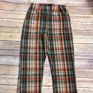 Primary Photo - BRAND: FREE PEOPLE STYLE: PANTS COLOR: PLAID SIZE: 4 OTHER INFO: NEW! SKU: 232-23290-49893