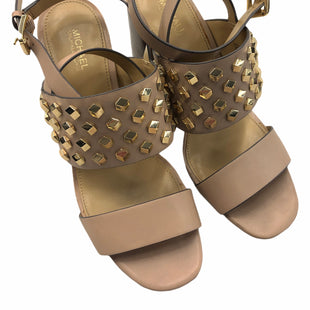 Primary Photo - BRAND: MICHAEL BY MICHAEL KORS STYLE: SANDALS LOW COLOR: NUDE SIZE: 7 SKU: 232-232121-4181