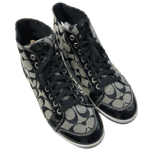 Primary Photo - BRAND: COACH STYLE: SHOES ATHLETIC COLOR: BLACK SIZE: 10 SKU: 232-23290-52141