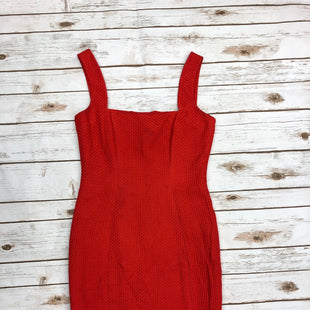 Primary Photo - BRAND: VALENTINO STYLE: DRESS SHORT SLEEVELESS COLOR: RED SIZE: 8 SKU: 232-23280-47039