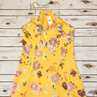 Primary Photo - BRAND: LOFT STYLE: DRESS SHORT SLEEVELESS COLOR: YELLOW SIZE: 10 SKU: 232-23290-45804