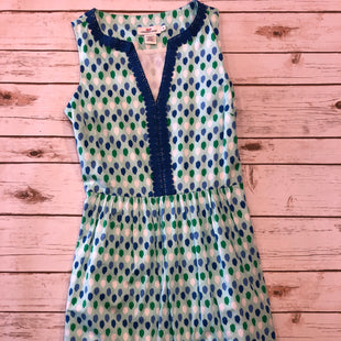 Primary Photo - BRAND: VINEYARD VINES STYLE: DRESS SHORT SLEEVELESS COLOR: GREEN SIZE: 0 SKU: 232-23280-43402EMBROIDERED DETAIL
