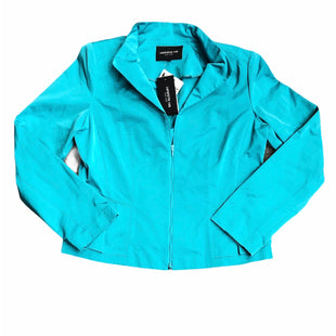 Primary Photo - BRAND: LAFAYETTE 148 STYLE: JACKET OUTDOOR COLOR: TEAL SIZE: 12 SKU: 232-23290-52674