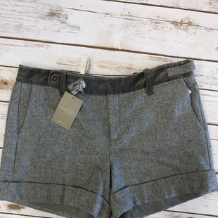 Primary Photo - BRAND: ANTHROPOLOGIE STYLE: SHORTS COLOR: GREY SIZE: 8 SKU: 232-23290-39960SUEDE DETAILS