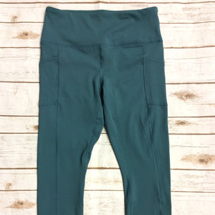 Primary Photo - BRAND: 90 DEGREES BY REFLEX STYLE: ATHLETIC PANTS COLOR: GREEN SIZE: L SKU: 232-23290-47781