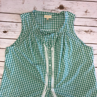 Primary Photo - BRAND:   CMC STYLE: TOP SLEEVELESS COLOR: GREEN SIZE: 2X OTHER INFO: MODCLOTH - SKU: 232-23295-11856CUTE BUTTON AND LACE DETAILING.