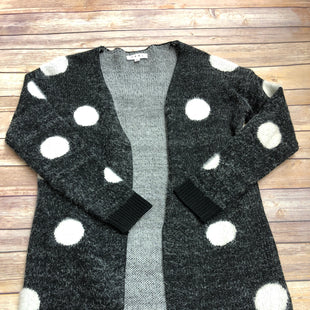Primary Photo - BRAND: THML STYLE: SWEATER CARDIGAN HEAVYWEIGHT COLOR: BLACK WHITE SIZE: XS SKU: 232-23290-48894